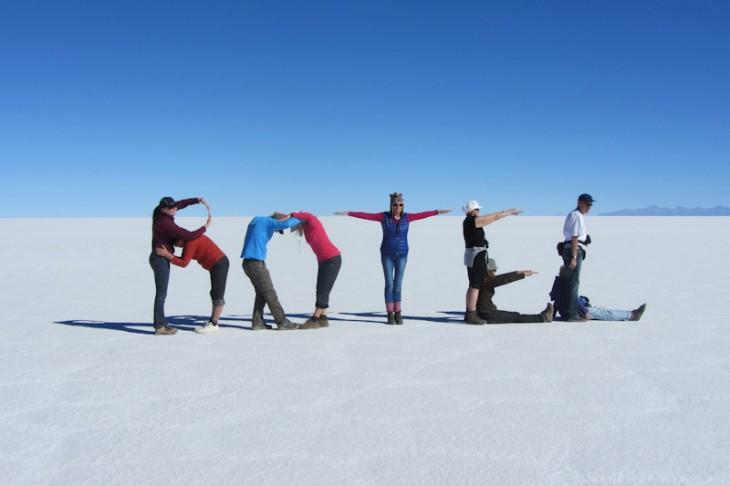 Berichte über Salzseen Salzwüsten in Amerika - Reiseblog