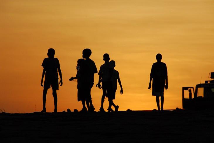Rotel Reiseblog - Kinder in Afrika