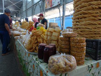 Marktstand Süßigkeiten