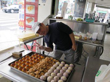 Streetfood Verkäufer