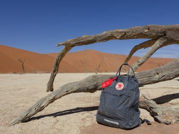 Wüste, Rucksack