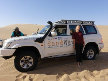 Jeep, Wüste, Namibia